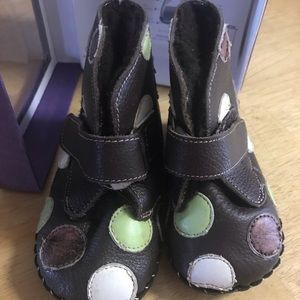 Pediped Giselle boot 12-18 months